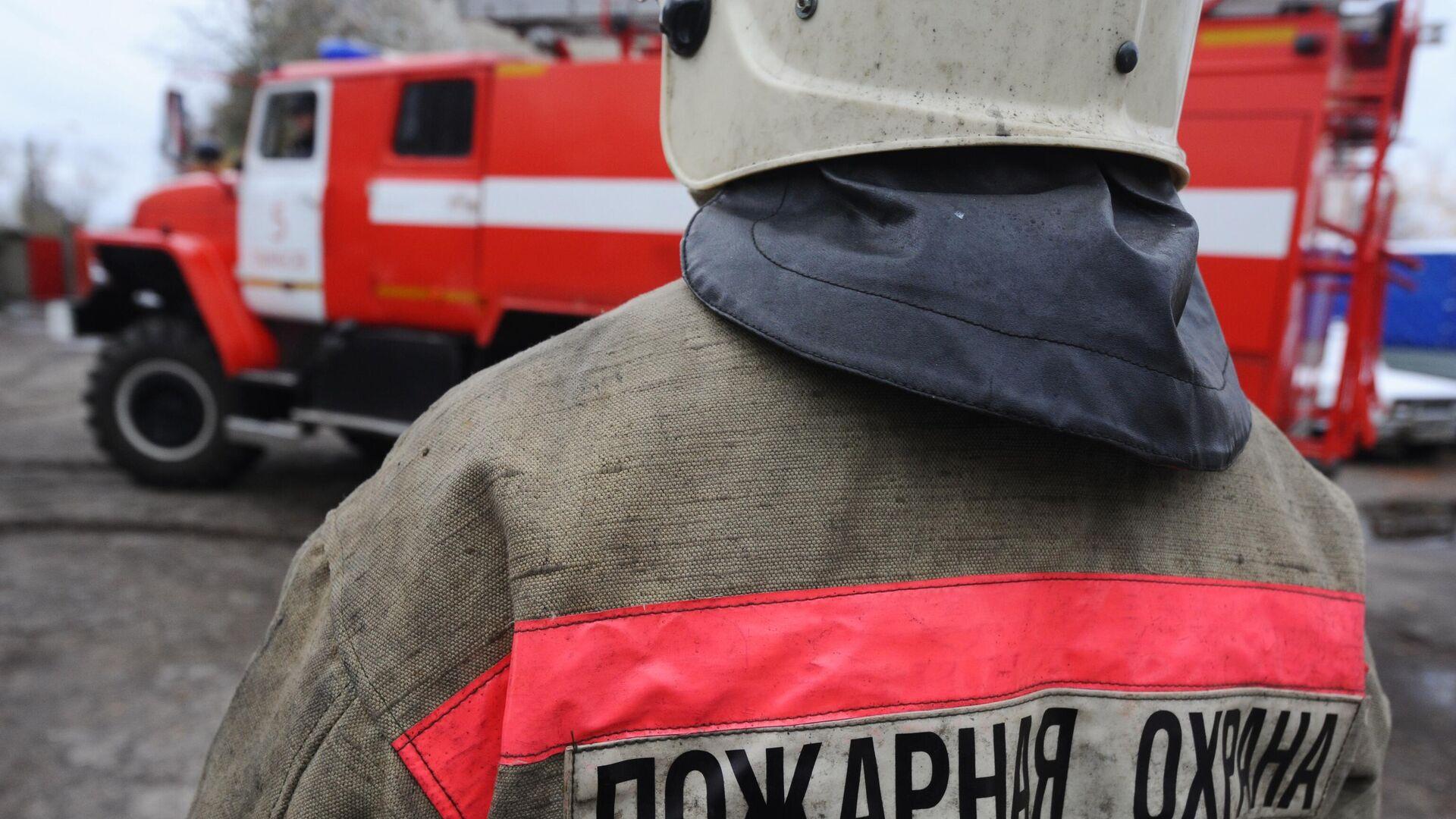 Сотрудник пожарной охраны - РИА Новости, 1920, 25.09.2020
