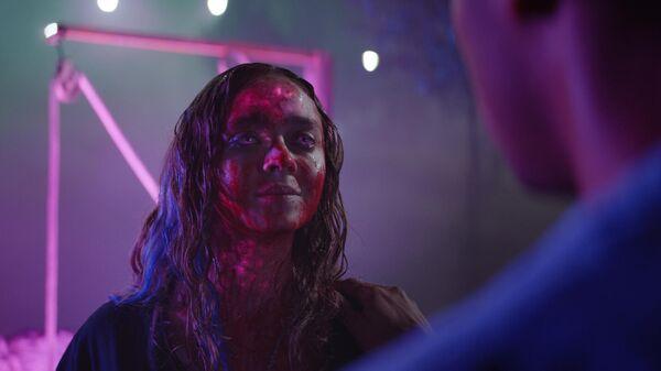 Кадр из фильма Цвет из иных миров