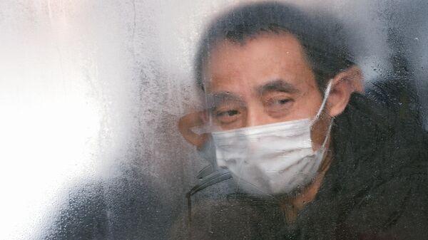 Гражданин КНР в автобусе