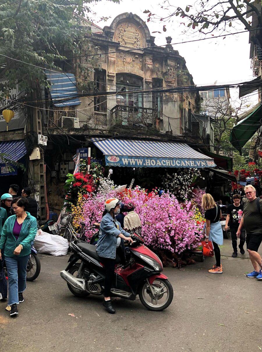 Рынок в Ханое