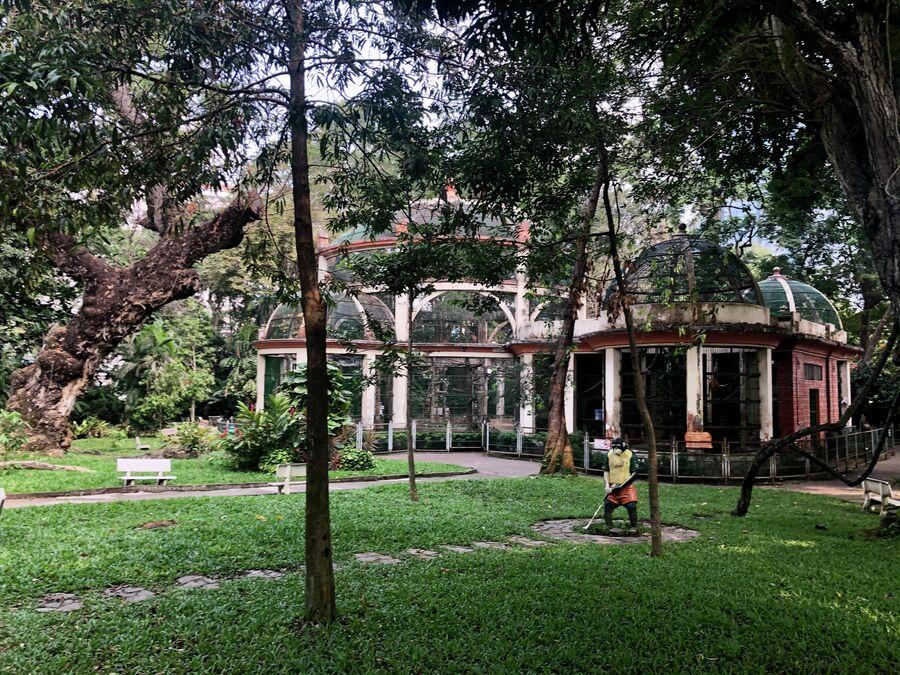 В ботаническом саду Хошимина