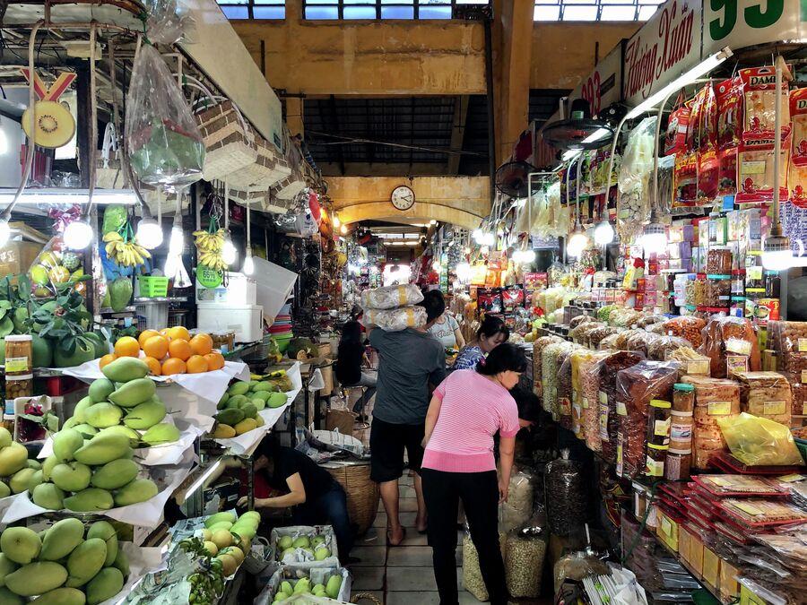 Крытый рынок, Хошимин