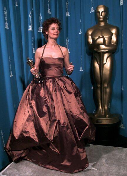 Сьюзан Сарандон на церемонии вручения премии Оскар, 1996 год