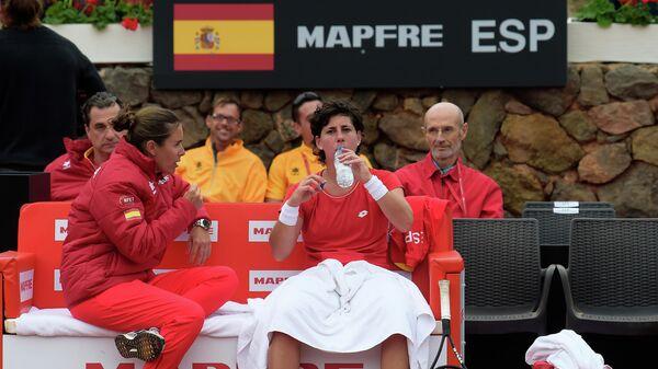 Теннисистка женской сборной Испании по теннису Карла Суарез