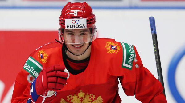 Российский хоккеист Кирилл Марченко