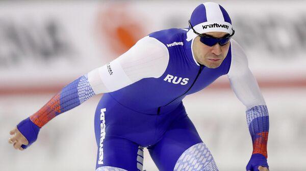 Российский конькобежец Руслан Мурашов