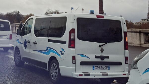 Машина скорой помощи во Франции