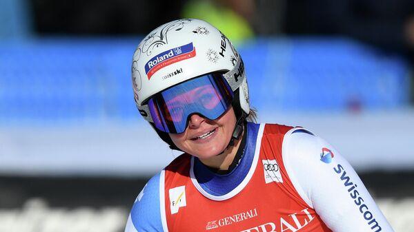 Швейцарская горнолыжница Коринн Зутер