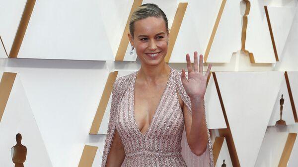 Актриса Бри Ларсон на церемонии вручения премии Оскар
