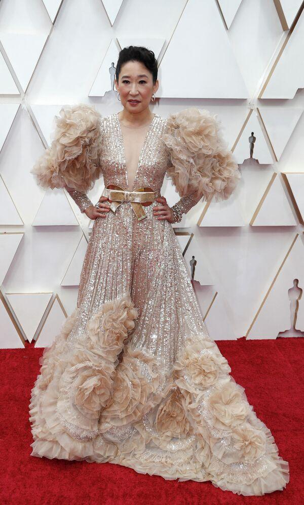 Актриса Сандра О на церемонии вручения премии Оскар