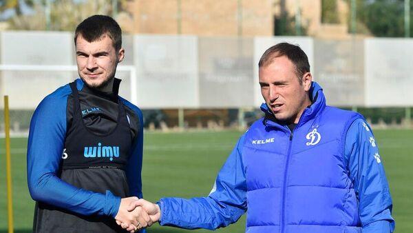 Николай Комличенко и Кирилл Новиков (справа)