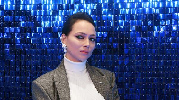 Актриса Настасья Самбурская на премьере фильма Лёд 2