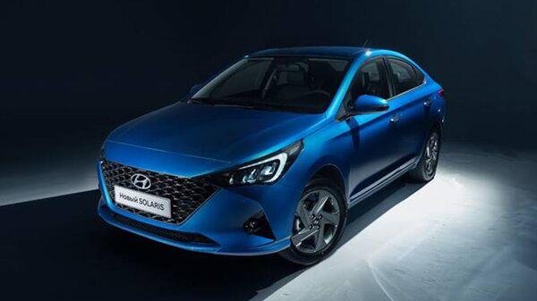 Появились официальные снимки обновленного Hyundai Solaris
