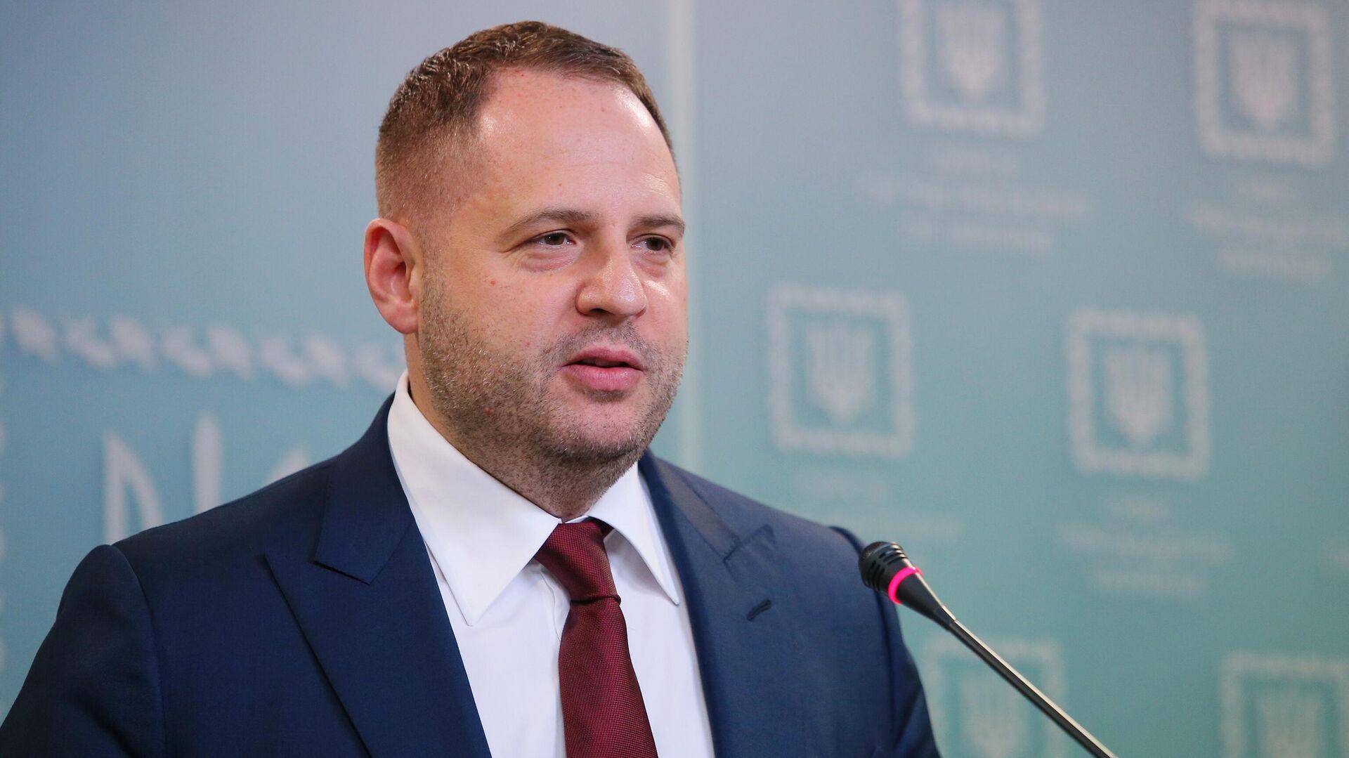 Глава администрации президента Украины Андрей Ермак - РИА Новости, 1920, 04.10.2020