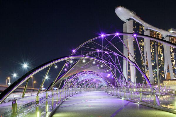 Мост ДНК в Сингапуре