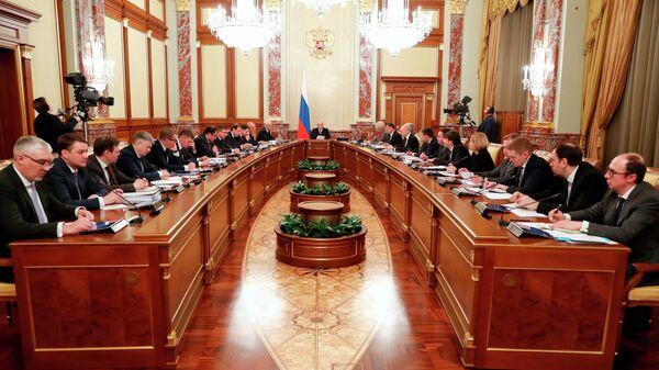 Председатель правительства РФ Михаил Мишустин проводит заседание президиума Совета при президенте РФ по стратегическому развитию и национальным проектам