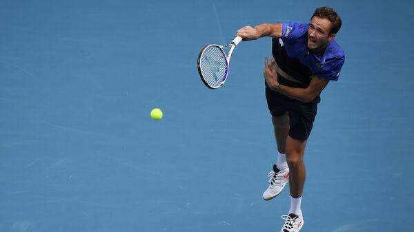 Теннисист Даниил Медведев (Россия)