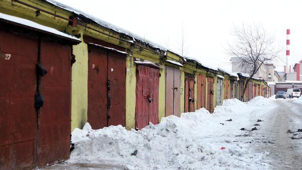 Гаражи в Москве