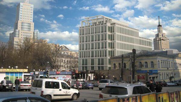 Проект нового здания Басманного суда в Москве