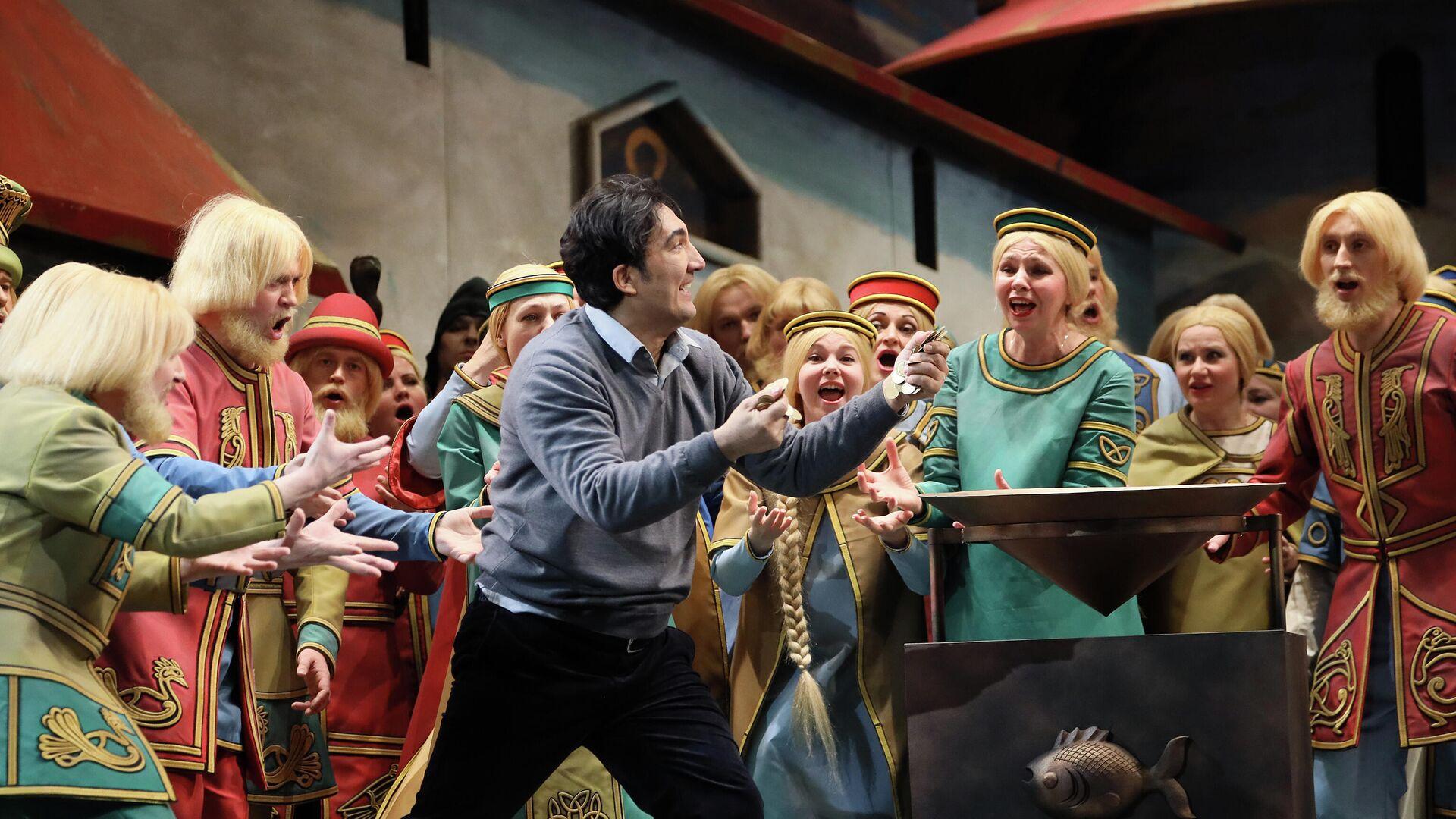 Сцена из оперы Садко в Большом театре - РИА Новости, 1920, 22.04.2021