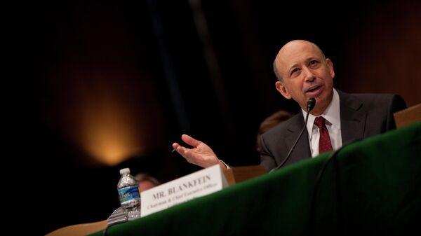 Исполнительный директор Goldman Sachs Ллойд Бланкфейн. 2010 год