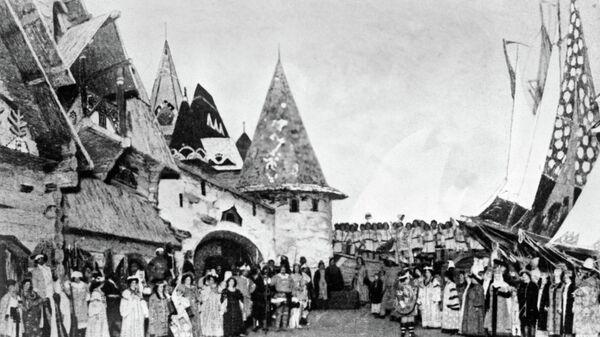 Сцена из оперы Николая Римского-Корсакова Садко в постановке Большого театра