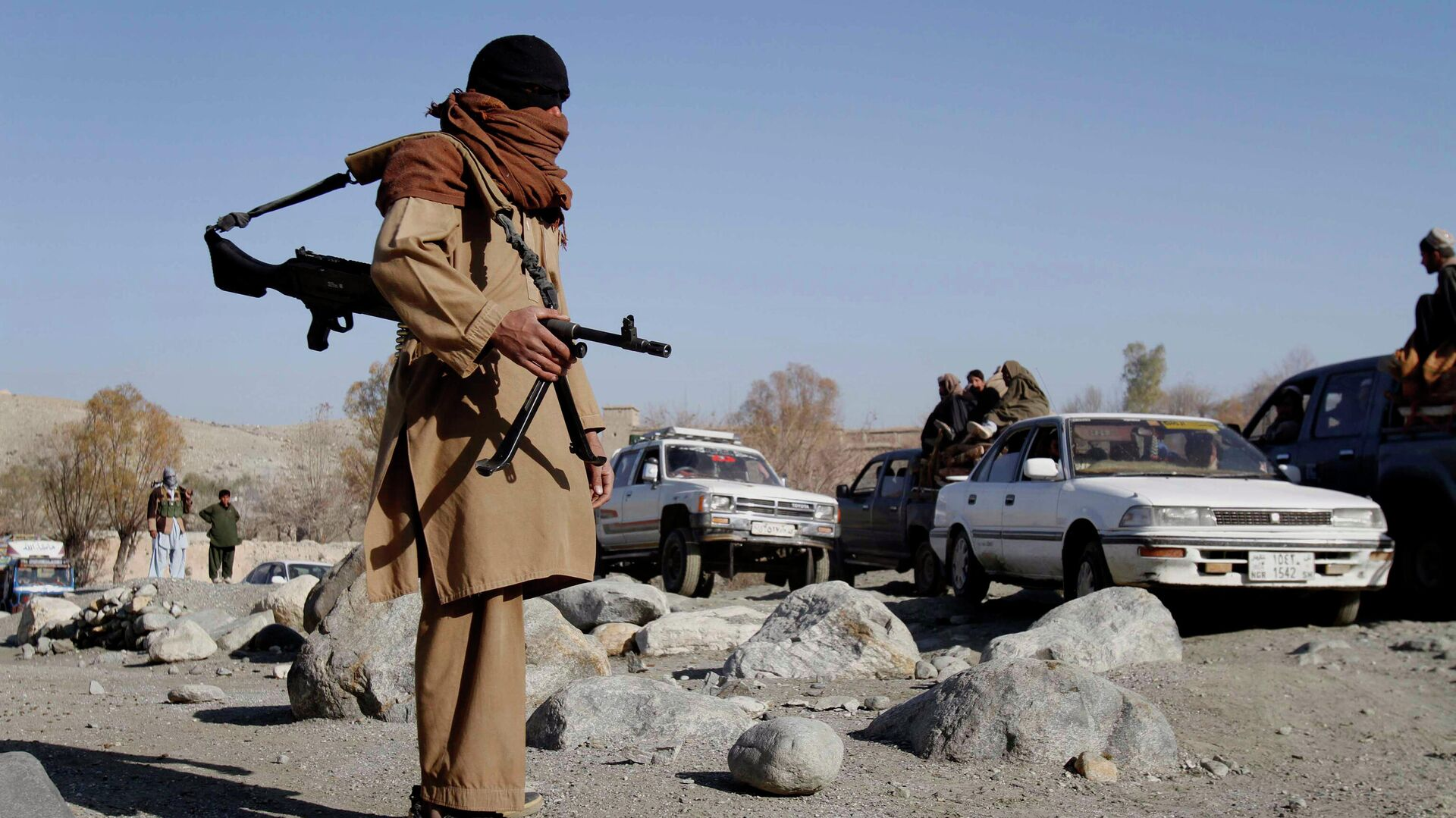 Боевики радикального движения Талибан в Афганистане - РИА Новости, 1920, 03.07.2021