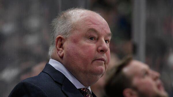 Главный тренер клуба НХЛ Миннесота Уайлд Брюс Будро