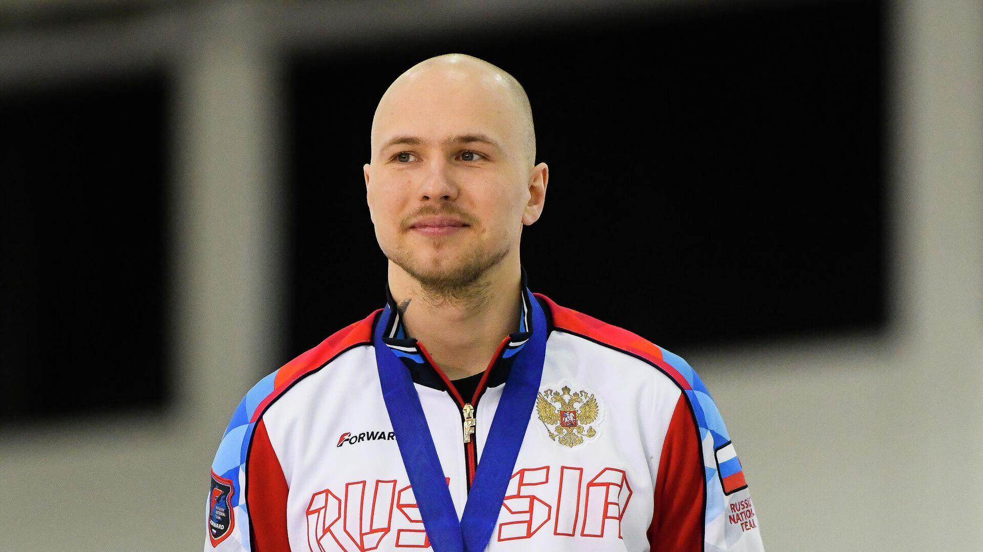 Российский конькобежец Павел Кулижников - РИА Новости, 1920, 13.02.2021