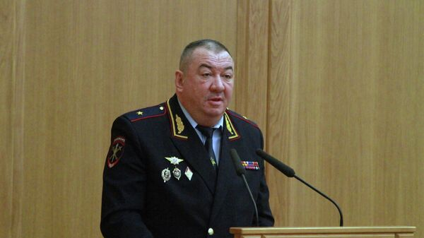 Генерал-майор полиции Сергей Плахих