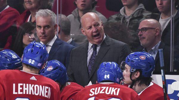 Главный тренер клуба НХЛ Монреаль Клод Жюльен