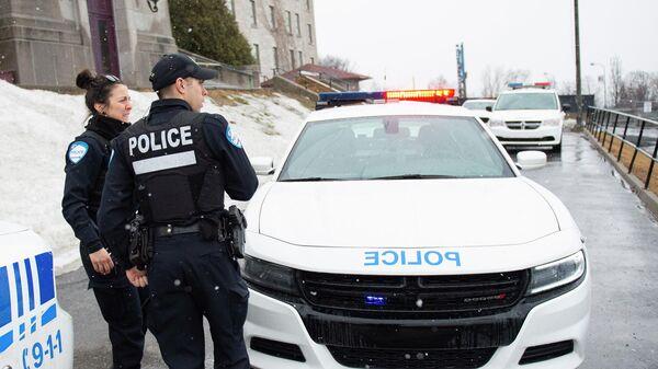 Канадские полицейские