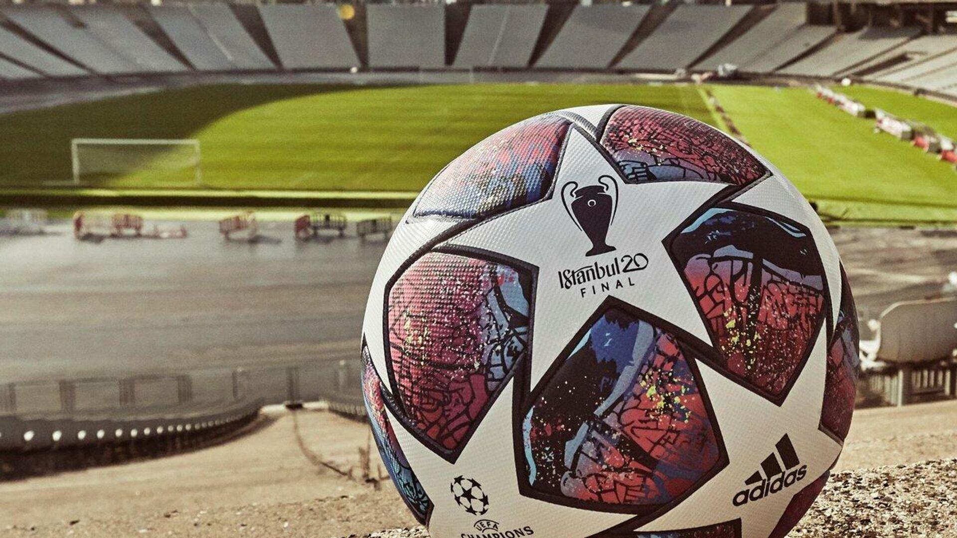 Официальный мяч финала Лиги чемпионов сезона-2019/20 - РИА Новости, 1920, 14.04.2021