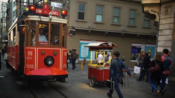 На одной из улиц Стамбула