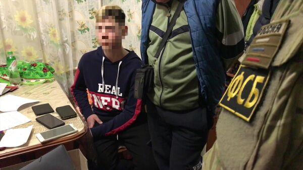 Задержание сотрудниками ФСБ РФ подростков в Керчи, готовивших террористические акты