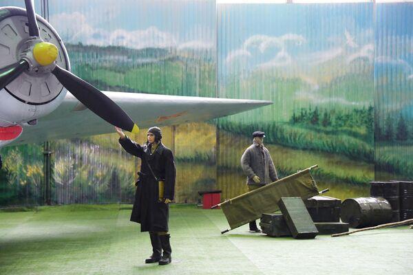Экспозиция в Центральном музее Военно-воздушных сил в Монино