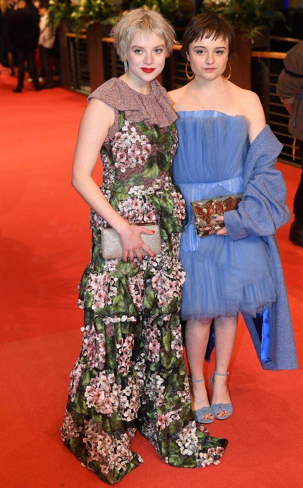 Актриса Йелла Хаазе на красной дорожке церемонии открытия юбилейного 70-го Берлинского международного кинофестиваля Берлинале - 2020