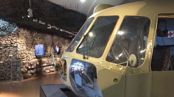 Кабина вертолета МИ-8, в которой можно полетать в виртуальных очках