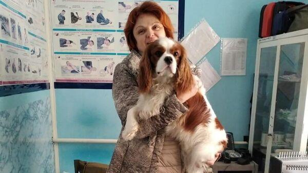 Женщина, провалившаяся с собакой по лед на Москве-реке