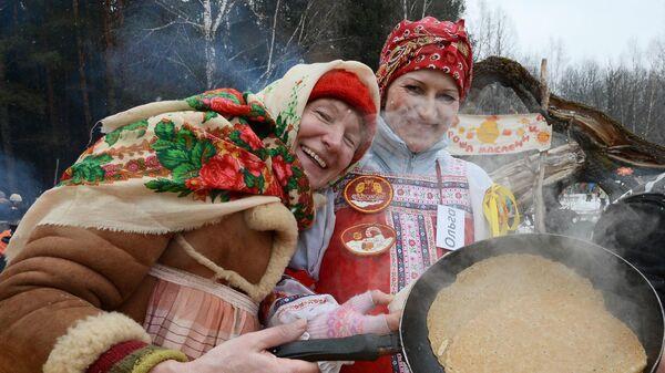 Масленичные гуляния в Москве и Московской области