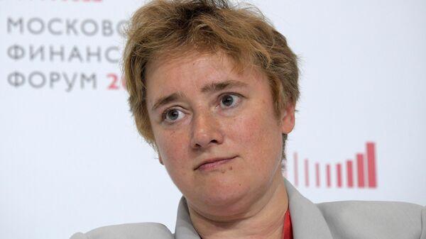 Заместитель руководителя департамента экономической политики и развития Москвы Полина Крючкова