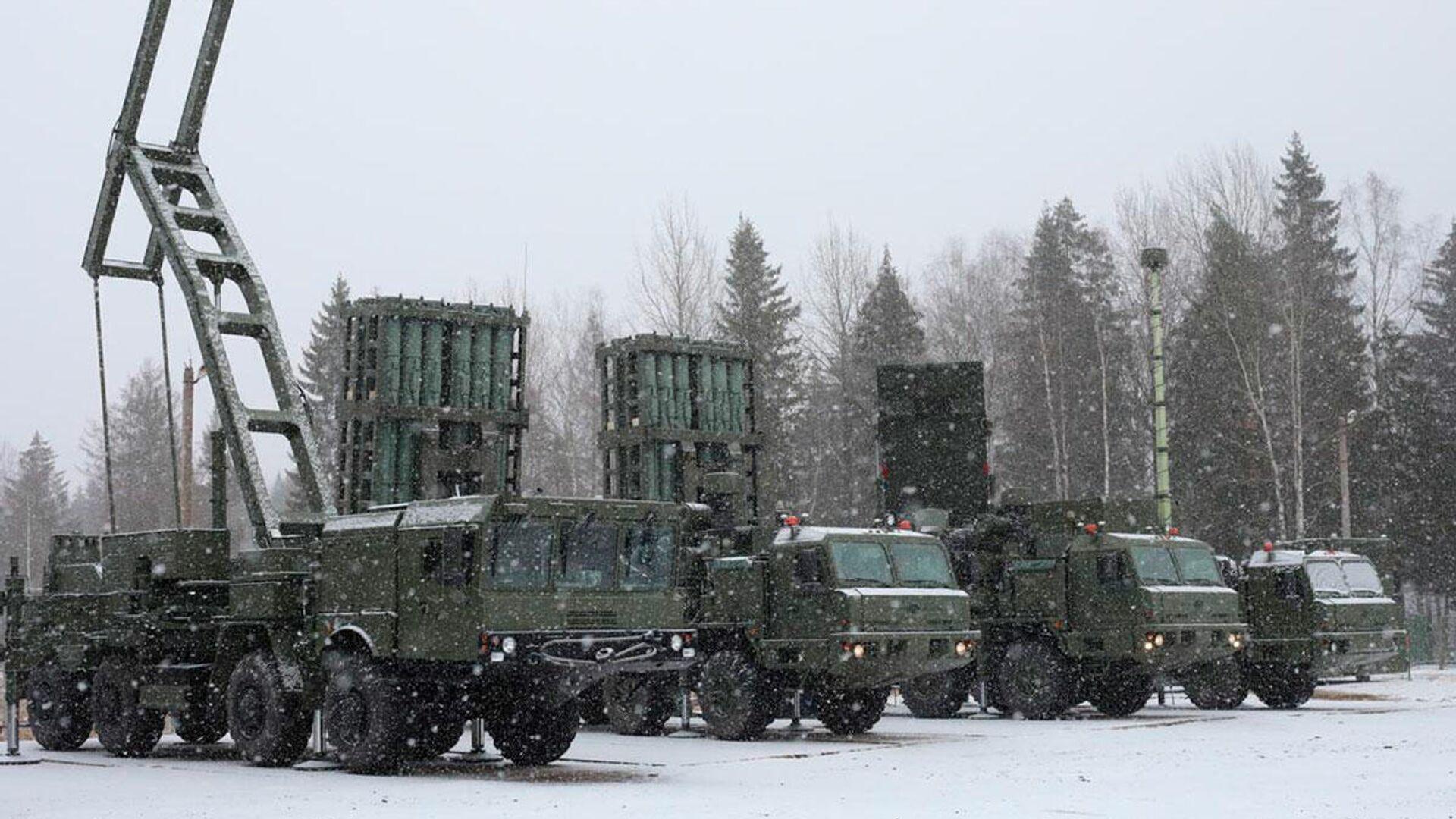 Зенитная ракетная система С-350 Витязь поступила в Воздушно-космические силы РФ - РИА Новости, 1920, 09.01.2021