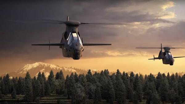 Вертолеты Bell. Рекламный ролик