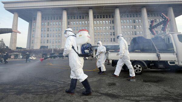 Профилактические меры против распространения коронавируса COVID-19 в Сеуле
