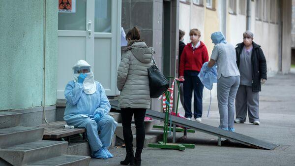 Клиника инфекционных заболеваний в Загребе, Хорватия