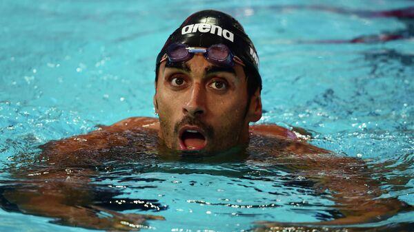 Пловец Филиппо Маньини