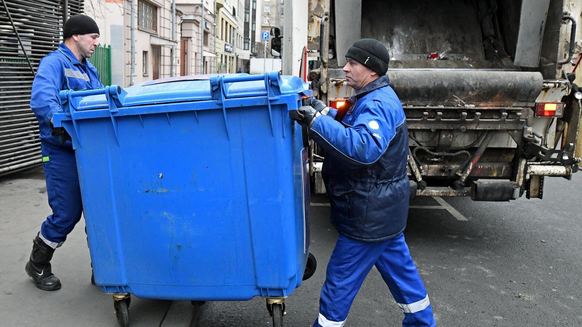Раздельный сбор мусора в Москве - РИА Новости, 1920, 16.11.2020
