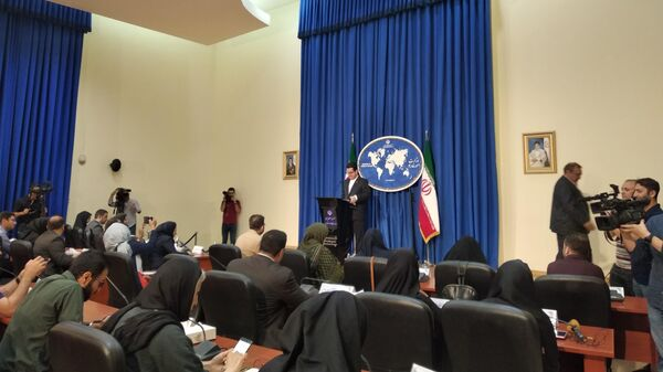 Официальный представитель МИД Ирана Аббас Мусави