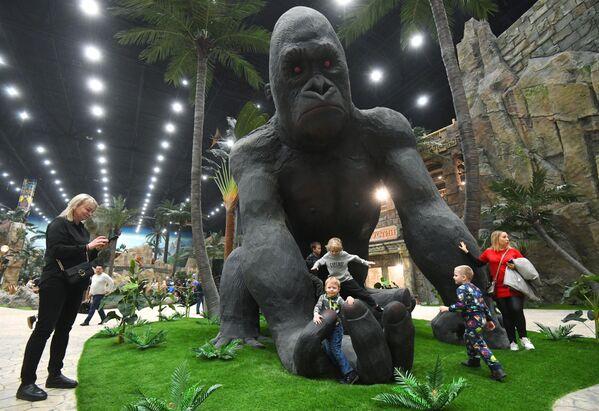 Открытие тематического парка Остров мечты
