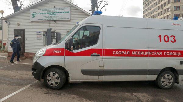 Машина скорой помощи в Минске, Белоруссия